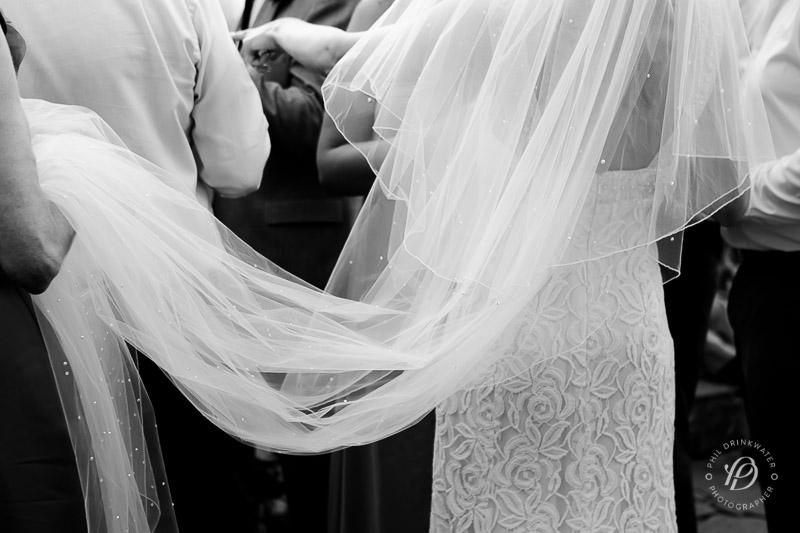 The wedding veil